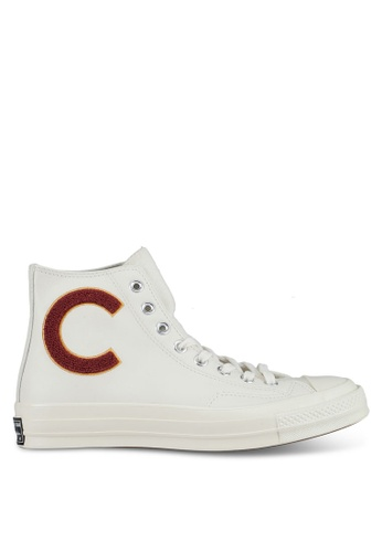 Converse white Chuck Taylor All Star 70 Hi Sneakers CO302SH0SW6QMY_1