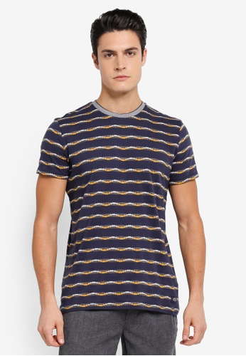 ESPRIT navy Short Sleeve T-Shirt ES374AA0SPJ9MY_1