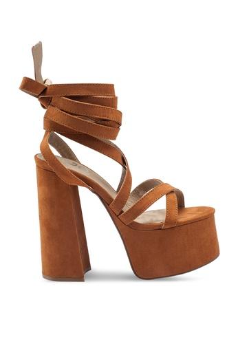 EGO brown Harlow Heels 4490ASHB3AE34BGS_1
