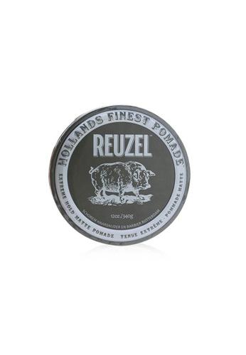 REUZEL REUZEL - Extreme Hold Matte Pomade (Extreme Hold, No Shine, Water Soluble) 340g/12oz 1C952BE880AA1FGS_1
