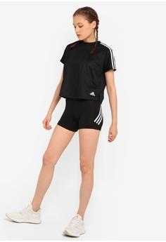 d2337b427b3 adidas adidas Alphaskin Sport 3-Stripes Short Tights RM 100.00. Sizes XS S  M L XL