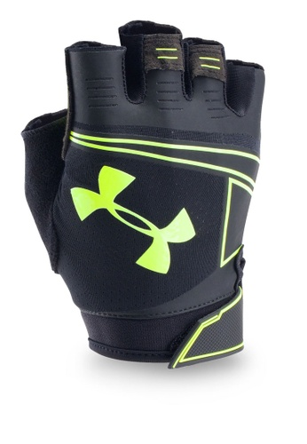 Under Armour black UA Coolswitch Flux Gloves UN337AC0RUEKMY_1