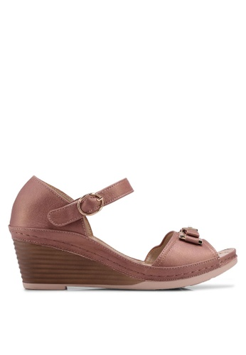 42277b55a07 Shop Noveni Strapy Wedges Online on ZALORA Philippines