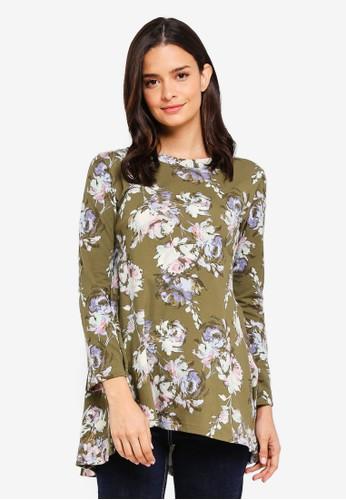 Aqeela Muslimah Wear green Saloma Top DB7CBAA27CBDDDGS_1