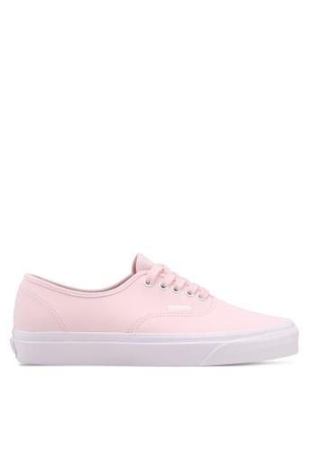VANS pink Authentic Vansbuck Sneakers 4B1CASH2A6EC2EGS_1