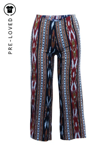 Reformation multi Pre-Loved reformation Multicolor Cropped Pants A72BCAAD86DD92GS_1