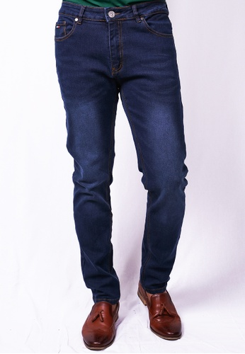 MILANO blue Milano Jeans Long Pants Tight Fit Stretchable 44177AAF540C8AGS_1