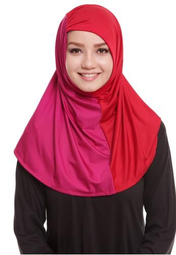 Mybamus Two Tone Serut Syria Red - Pink