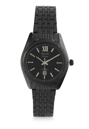 Alexandre Christie black Alexandre Christie Jam Tangan Wanita - Black - Stainless Steel - 8501 LDBIPBA 43AE3ACC9CEAD0GS_1