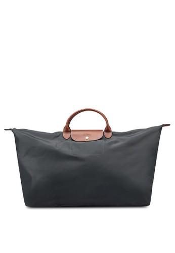 LONGCHAMP grey Le Pliage Original Travel Bag XL (nt) 1C780AC49D7E74GS_1