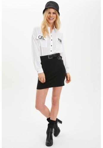 DeFacto black Mini Skirt F822CAA0005A3DGS_1