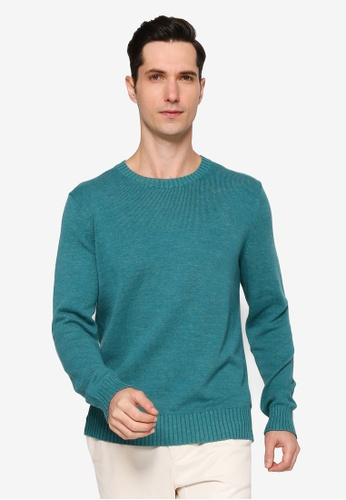 Banana Republic 藍色 Easy Crew Sweater 2BE6EAAD5BDF09GS_1