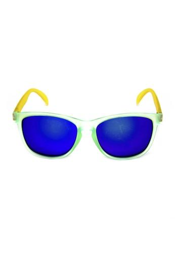 2i's to eyes green 2is Sunglasses - Eugene 4E23DGLE3AA969GS_1