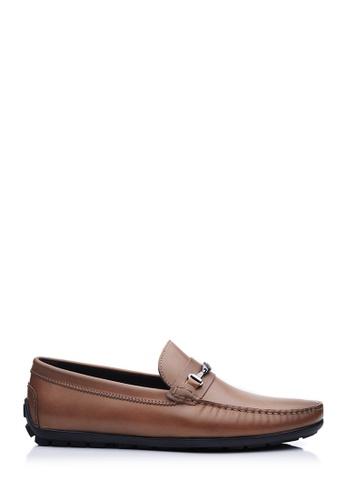 BONIA beige Beige Basic Driving Shoes 0E47FSHBD6833BGS_1