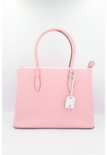 Kate Spade pink Kate Spade Eva Medium Top Zip Satchel WKRU6751 In BrightCarnation B079EACA684F74GS_1