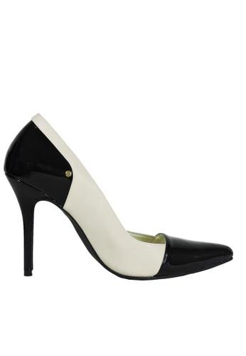 Jacque white Sassy White Heels JA262SH72NFNMY_1