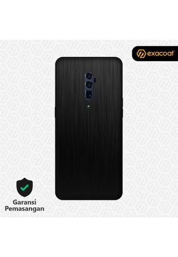 Exacoat Oppo Reno 10x Zoom 3M Skins Titanium Series - Titanium Black 3D035ESB5E182CGS_1