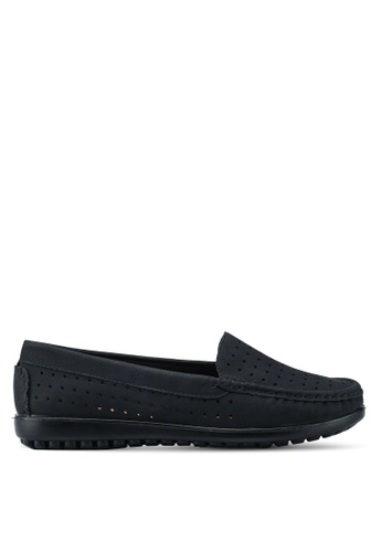 Louis Cuppers black Casual Flats 31018SHFCAF6E0GS_1