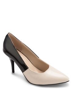 Britney 色塊高跟鞋