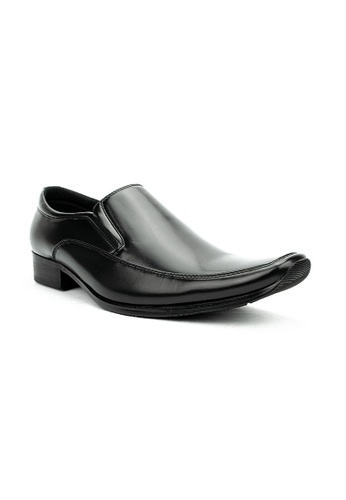 Cardam's Lifestyle black CMS 37398 Black Formal Shoes 14090SH6781F2EGS_1