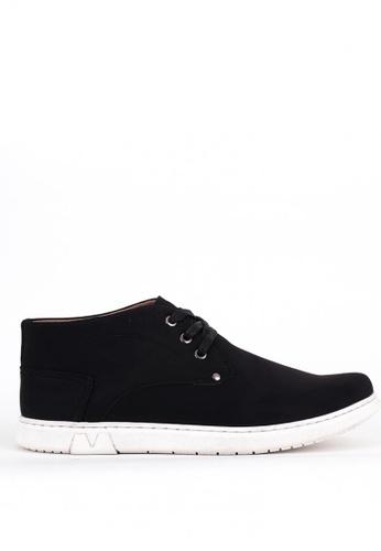 7soles black Derrick Mens Casual Shoes EDCBDSH1F474E7GS_1