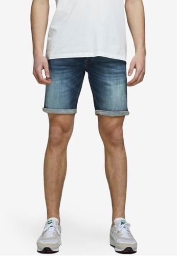 Jack & Jones blue Rick Denim Shorts 6B522AAD070A1FGS_1