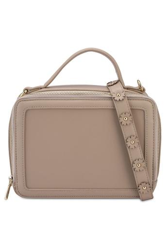 Milliot & Co. beige Aya Sling Bag 079F5ACAF4F886GS_1