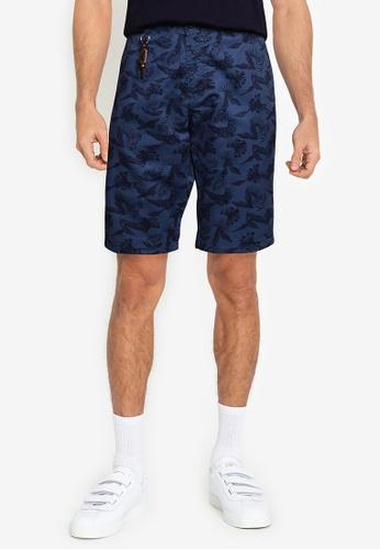 LC Waikiki navy Slim Fit Gabardine Bermuda Shorts 132A6AA58478F3GS_1