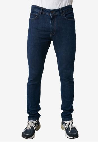 Trendyol blue Slim Fit Jeans 57DEDAA7D260CFGS_1