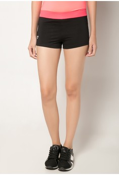 Meisou Yoga Shorts with Contrast Waistband