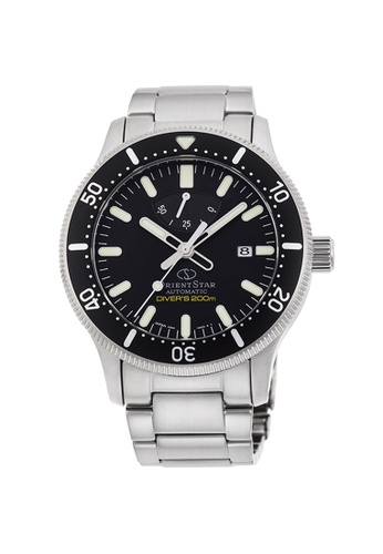 Orient silver Orient Star Mechanical Sports 3H Stainless Steel Mens Watch OS-RE-AU0301B00B A9AFCAC496914FGS_1