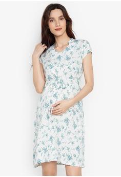 028f7f5a770 BUNTIS green Eula Maternity Dress 99984AAEC7E541GS 1