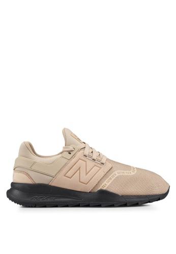 New Balance beige 247 Lifestyle Goretex Shoes EA0FCSH9873767GS_1