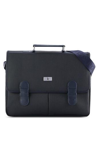 Swiss Polo blue Swiss Polo Satchel Bag SW912AC08PIXMY_1