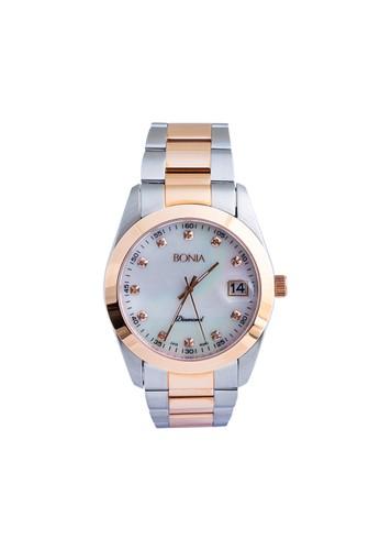 BONIA silver Bonia B10082-5657 - Jam Tangan Wanita - Silver Rosegold D54ADAC6DE2B30GS_1