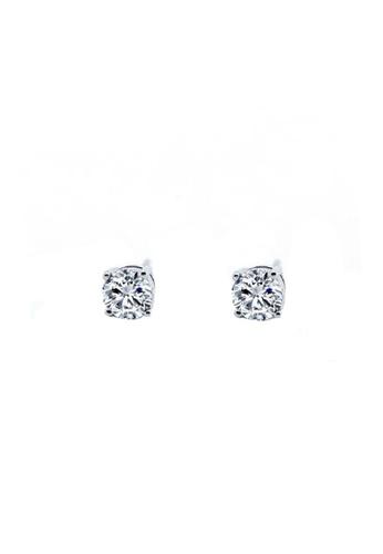 Miliyah Co silver Basic cz 5mm Earring 829C4ACA17FC1DGS_1