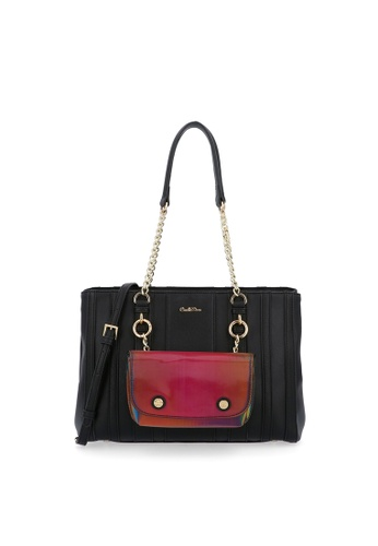 Carlo Rino black Black Over The Rainbow Shoulder Bag 2DD36AC3EE571AGS_1