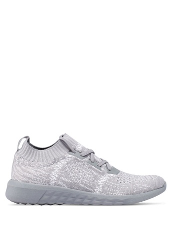 ALDO grey Knitted Sneakers 7BC08SH37A6AC3GS_1
