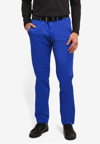 Boss Green blue Leeman 3 Pants BO516AA0RPO1MY_1