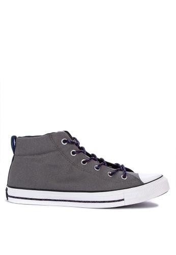 cef8ec15744 Converse grey Chuck Taylor All Stars Street Mountain Club Sneakers  B9462SH221F6ECGS 1