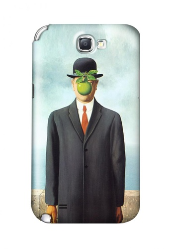 Wonder Cover multi The Son of Man Hard Case for Samsung Galaxy Note 2 79D95AC2D6D236GS_1