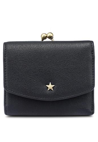 niko and ... black Gamaguchi Mini Wallet 8EE63AC888D3FFGS_1