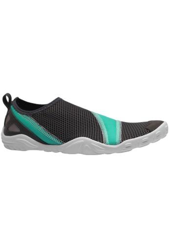 paperplanes grey Paperplanes-1363 Mesh Super Light Aqua Slip-Ons Shoes US Women Size PA355SH63QSUSG_1