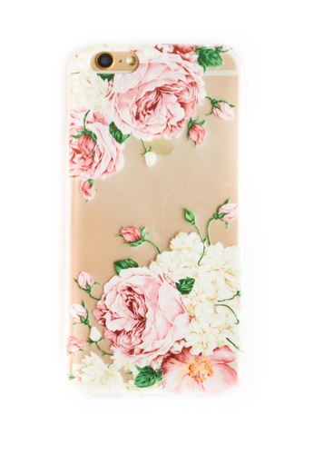 buy online 14b9c 81f5a Flowers Soft Transparent Case for iPhone 6/6s