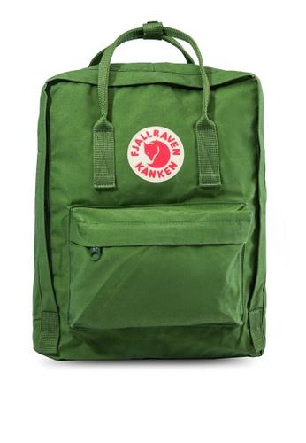 Fjallraven Kanken green Leaf Green Kanken Classic Backpack FJ859AC93CRUSG_1