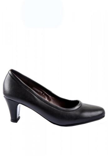 Otto black Block Heel Pumps 349B6SH63073F9GS_1