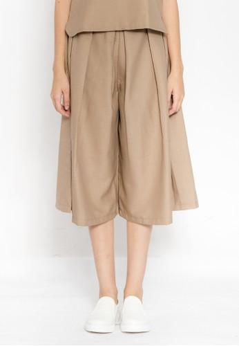 Floe Fashion brown Calestyn Cullote 2A9B8AA7C50F71GS_1