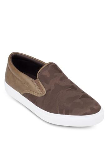 迷彩拼接懶人鞋zalora 衣服尺寸, 鞋, 懶人鞋