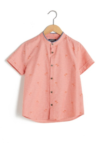 LC Waikiki red Poplin Boy's Shirt DE159KA0394D0CGS_1