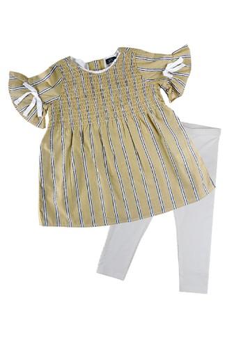 KIDS ICON yellow KIDS ICON - Setelan Anak Perempuan Baby DYL 03-36 Bulan With Frill Detail - DGST0500200 DBD14KAC52AEB2GS_1